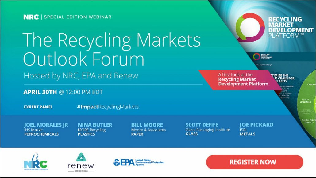 Recycling Markets Outlook Forum